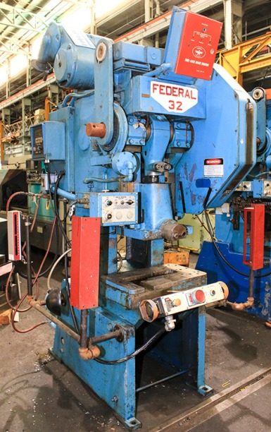 Federal No.32 32Ton OBI Press - 2120