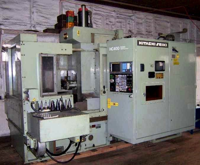 Hitachi Seiki HC400-40 CNC Horizontal Machining Center