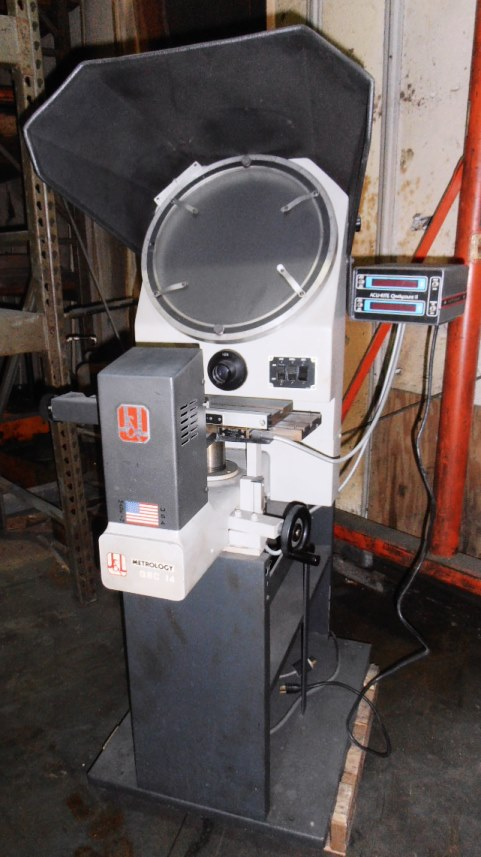 J&L Metrology QBC-14 Optical Comparator