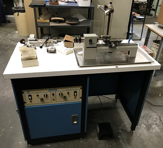 Levin Jewelers Lathe with Micro Drilling Attachment